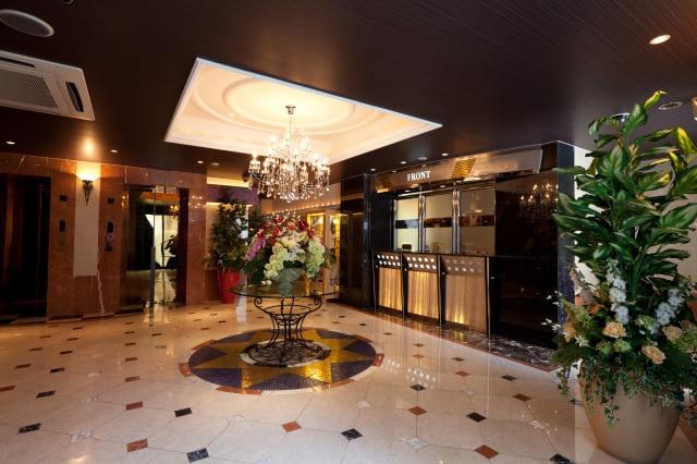 ホテル晏のフロント