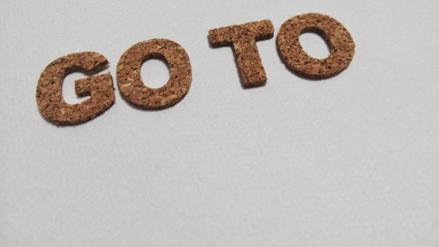 GOTOという文字